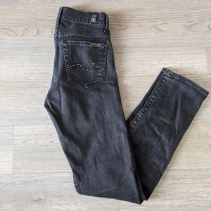 7 FOR ALL MANKIND / ROXANNE HIGH RISE / SIZE 25